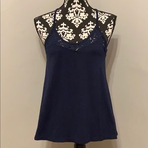 Maurices Lace Cut Out Tank Top